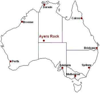 Ayers Rock Maps