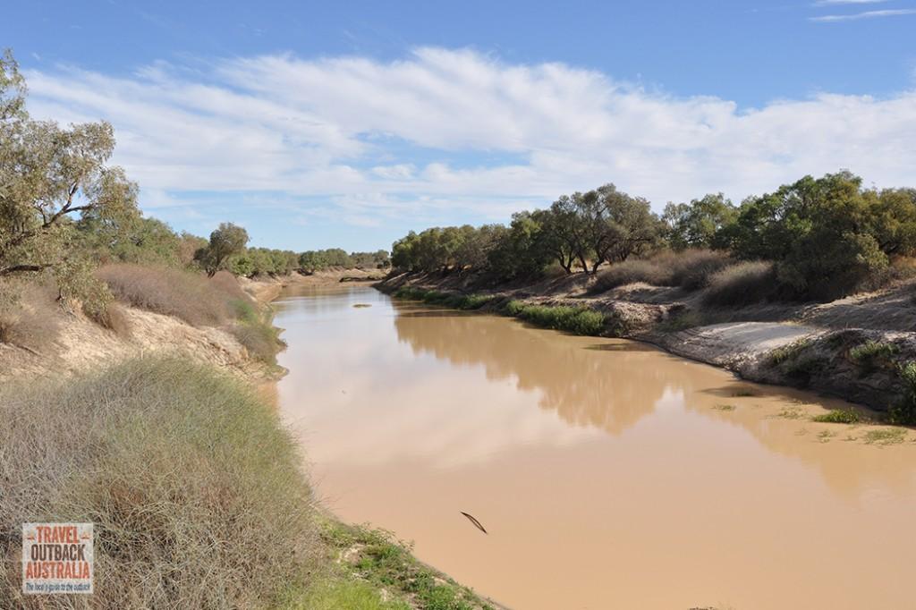 Birdsville, Diamantina River, Queensland